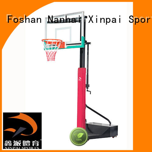 Xinpai cost effective basketball backstop popular for training