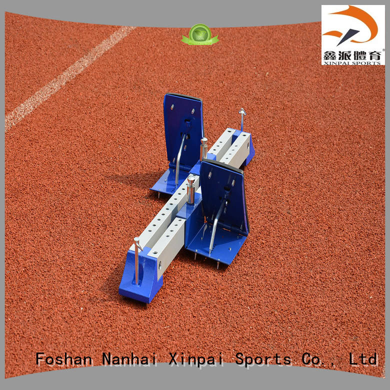 Xinpai outdoor starting block applied for competition