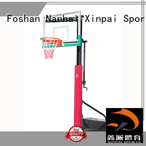 Xinpai competitive price basketball pole widely used for school
