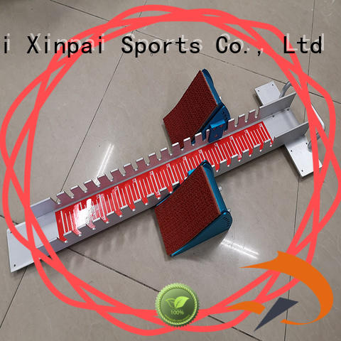 outdoor equipment running blocks exetendable applied for school
