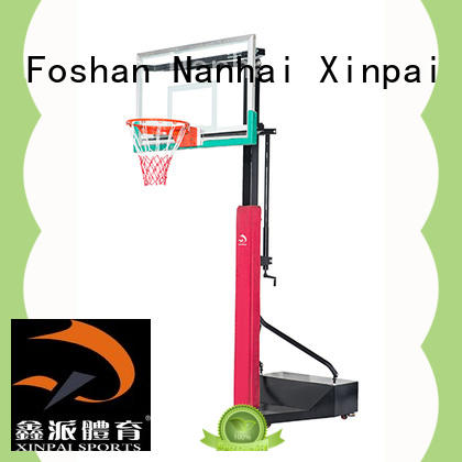 Xinpai durable quality indoor basketball goal rich product line for basketball game