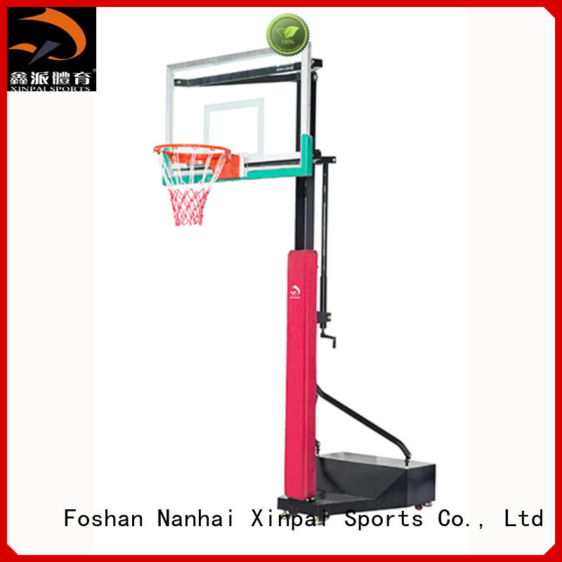 Xinpai basketball goal post widely used for competition