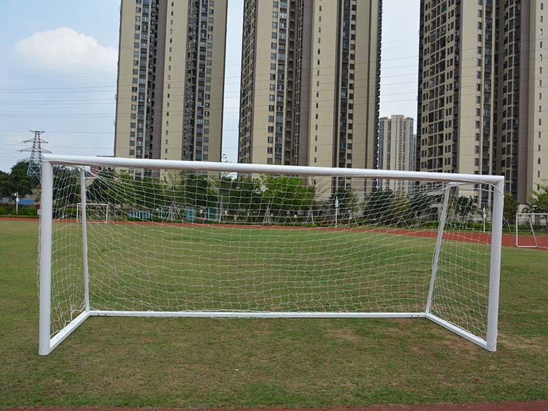Let' s see XP033ALH Football goal! Portable 8*24 ft Aluminum soccer goal football goal with steel base 7.32*2.44 meter
