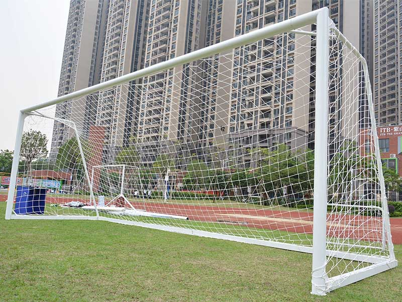 Let Me Introduce you! Tournament portable aluminum 8*24 ft soccer goal football goal 7.32*2.44 meter XP033AL-1