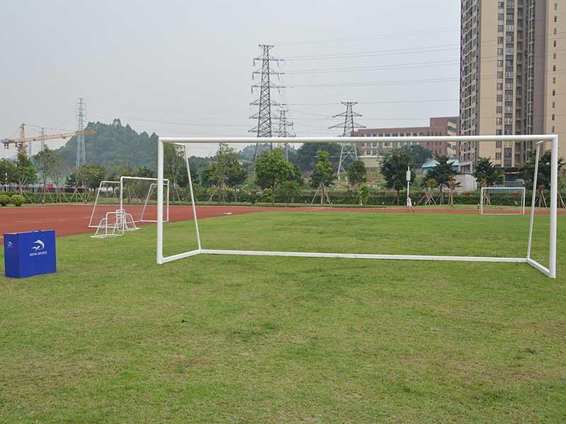 Let Me Introduce you! Tournament portable aluminum 8*24 ft soccer goal football goal 7.32*2.44 meter XP033AL