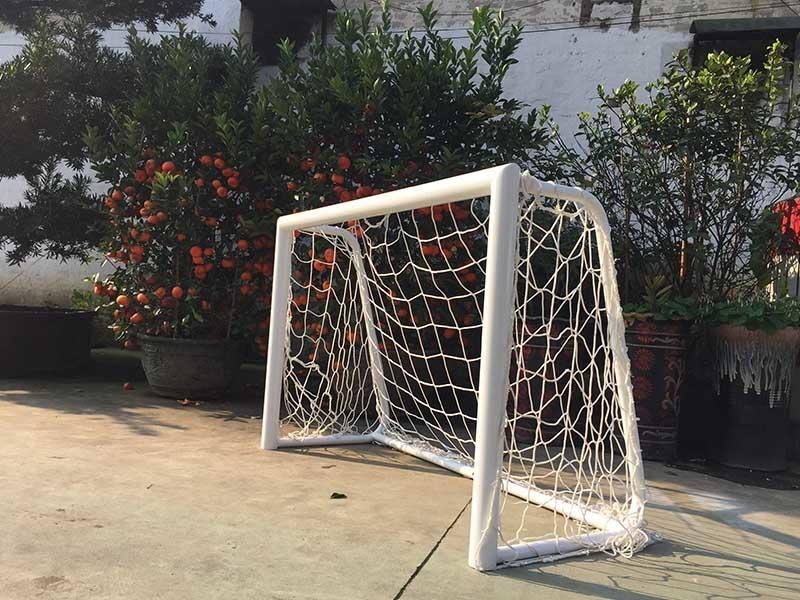 Welcome here is our 3-person game football goal 0.8*1.2 meter steel soccer goal XP038S