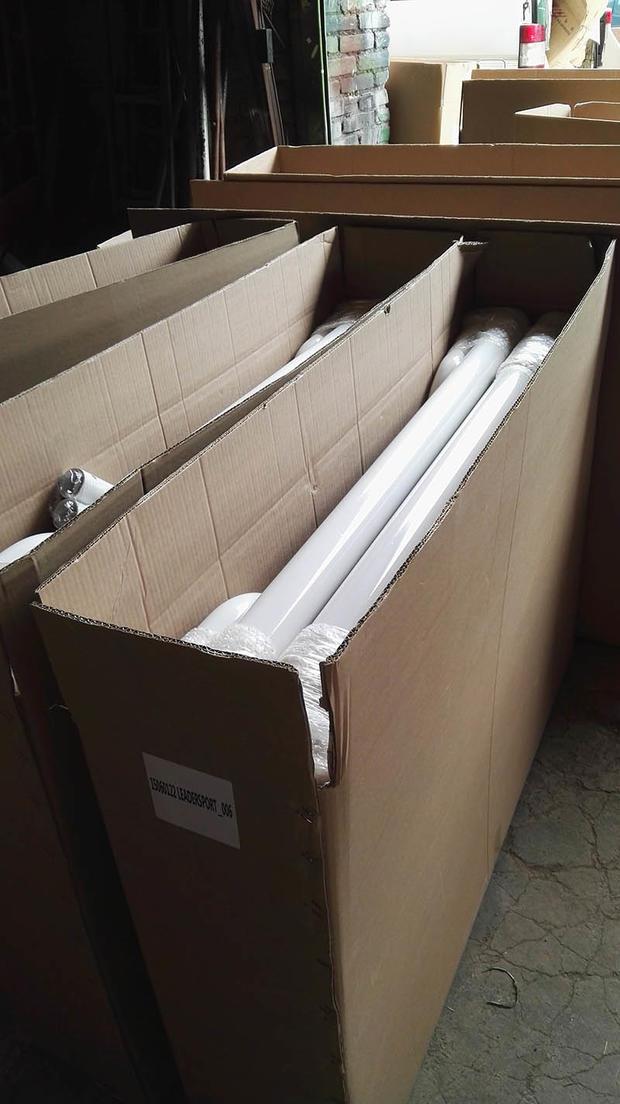 We apply 5 layers corrugated box!