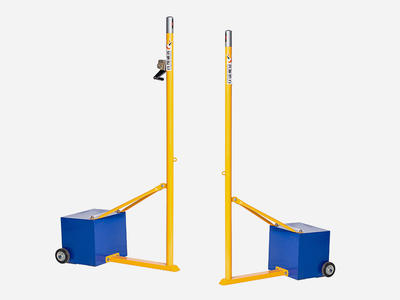 Movable Badminton Upright Stand Classic Design XP042