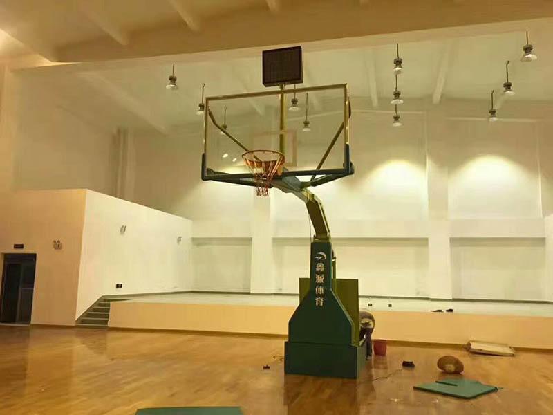 Intelligent Electronic hydraulic basketball stand basketball post XP001AI