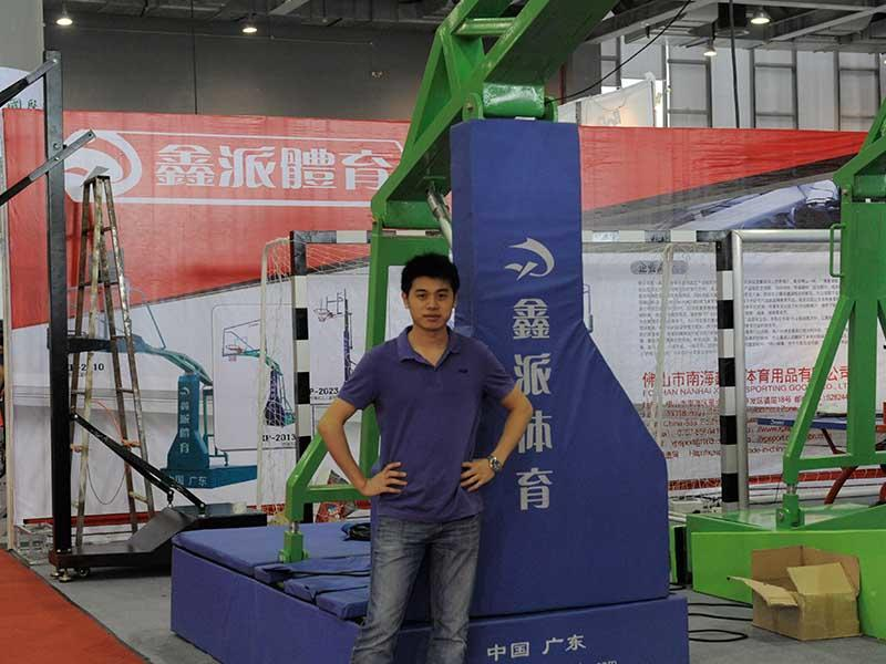 Xinpai Sports Equipment With Customer