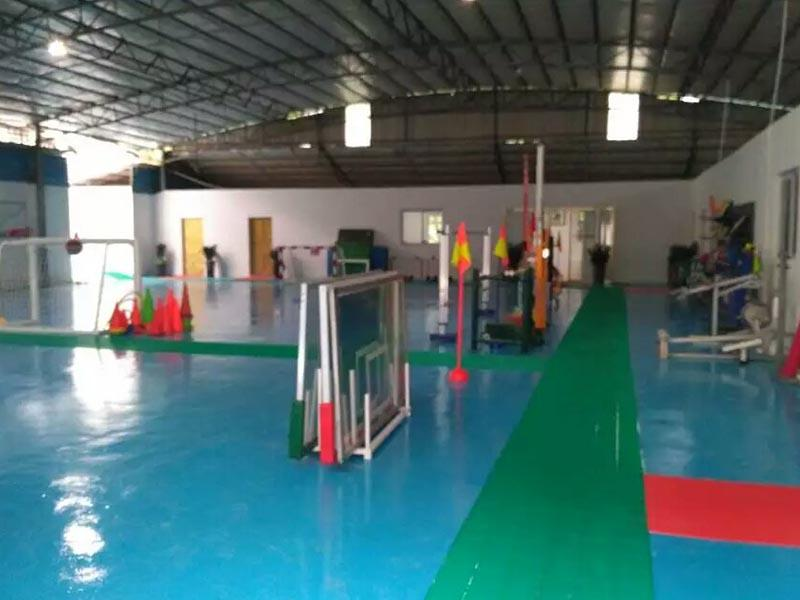 Xinpai Sports Equipment Factory hall