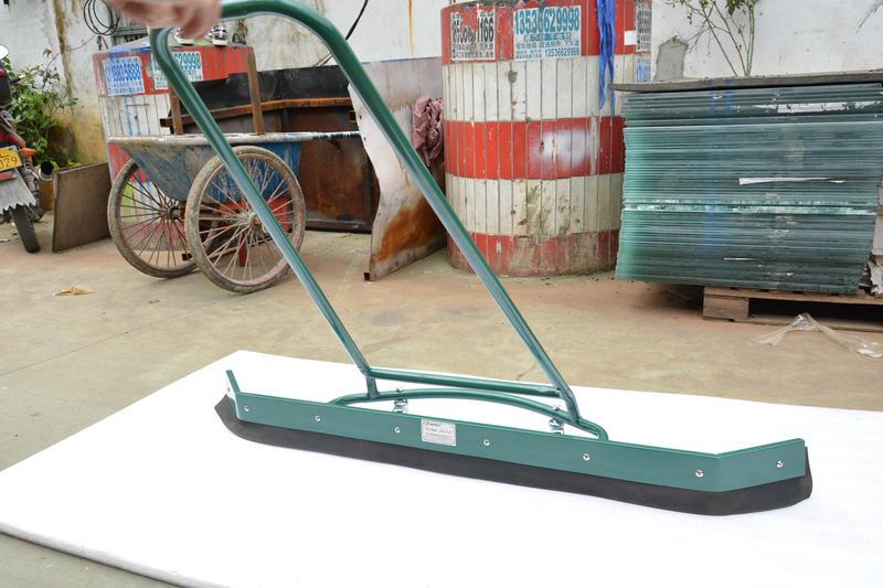 Tennis court squeegee/Sweeper/Grounding cleaner water dryer
