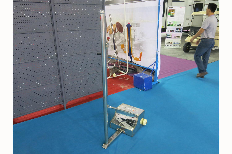 Stainless steel Badminton stand/Badminton upright/Badminton post XP046