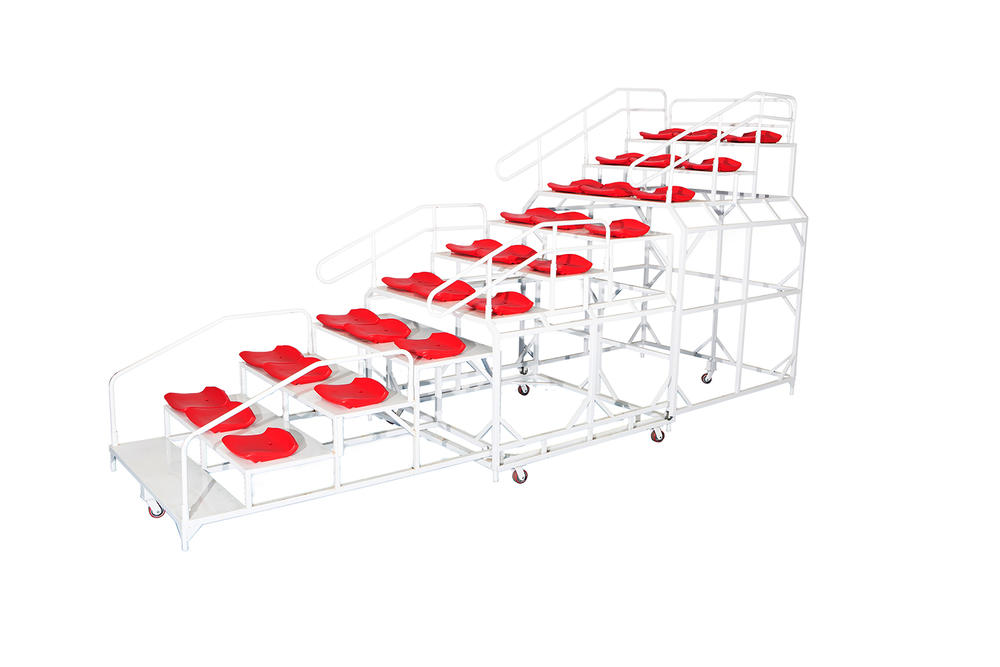 Extendable retractable Arena Bleachers/Audiences seats/ Exetendable Stage/ Playground Platform XP079