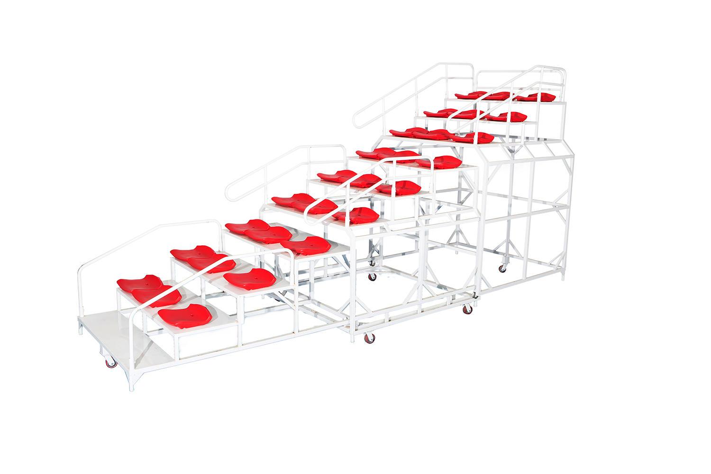 Extendable retractable Arena Bleachers/Audiences seats/ Exetendable Stage/ Playground Platform XP079