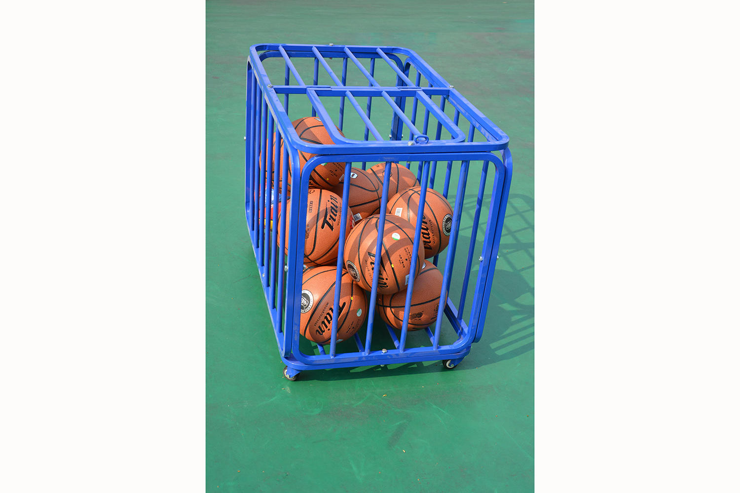 Steel Ball Cart/ All-purpose Ball Trailer/Carrier for basketball soccer volleyball XP108