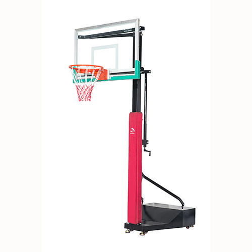 3-on-3 game movable adjustable height basketball goal basketball post XP016