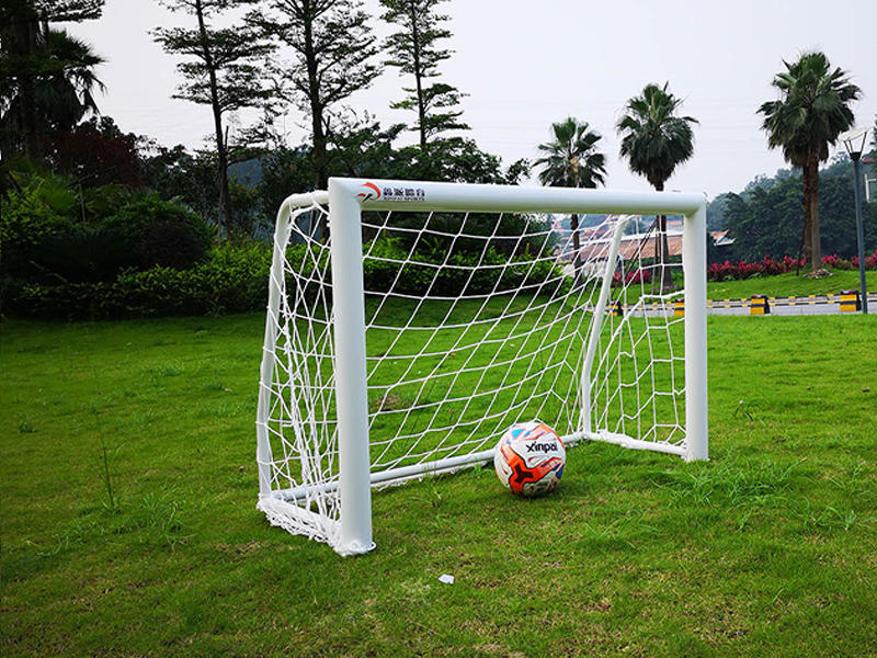 3-on-3 game Portable Aluminum 2.6*3.9 ft soccer goal football goal 1.2 x 0.8 meter XP038AL