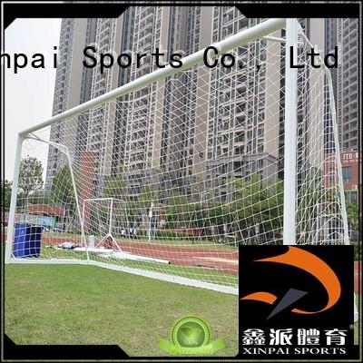Xinpai stable soccer goal post strong tube for practice indoor for soccer game