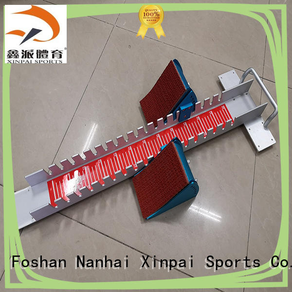 Xinpai signal track and field starting blocks widely used for training