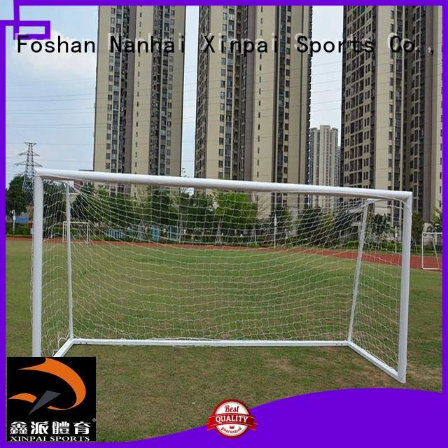 Xinpai professional soccer goal nets strong tube for school
