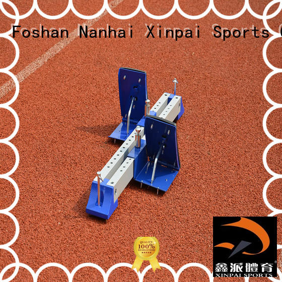 outdoor track and field starting blocks horse applied for tournament