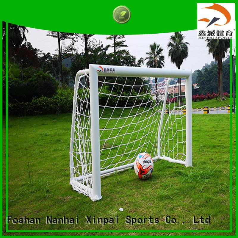 Xinpai setting soccer goal nets perfect for training
