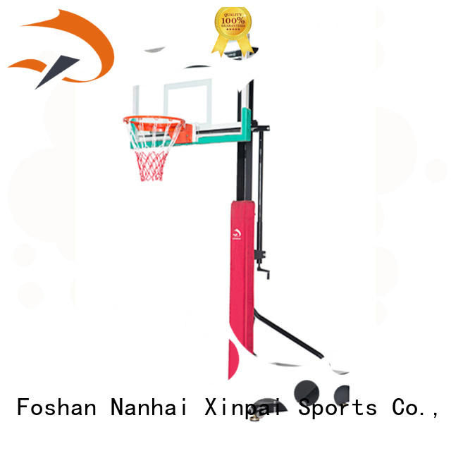 Xinpai durable quality outdoor basketball goal rich product line for school