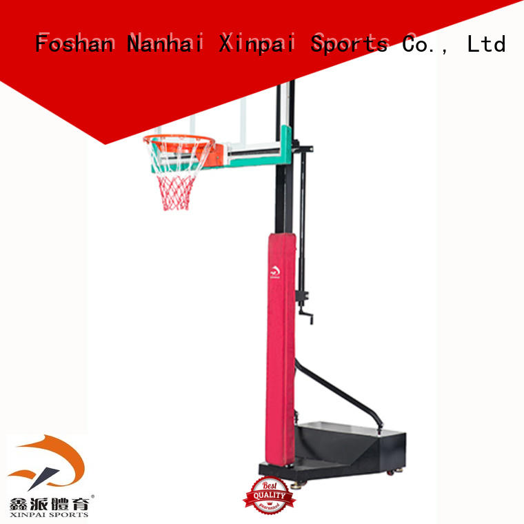 Xinpai durable quality outside basketball goal popular for competition