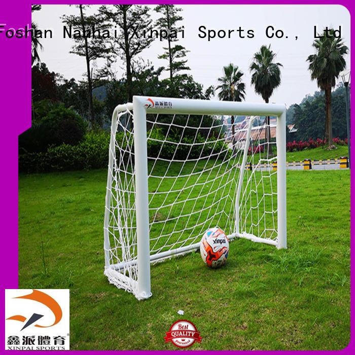 Xinpai rust resist soccer goal nets strong tube for school