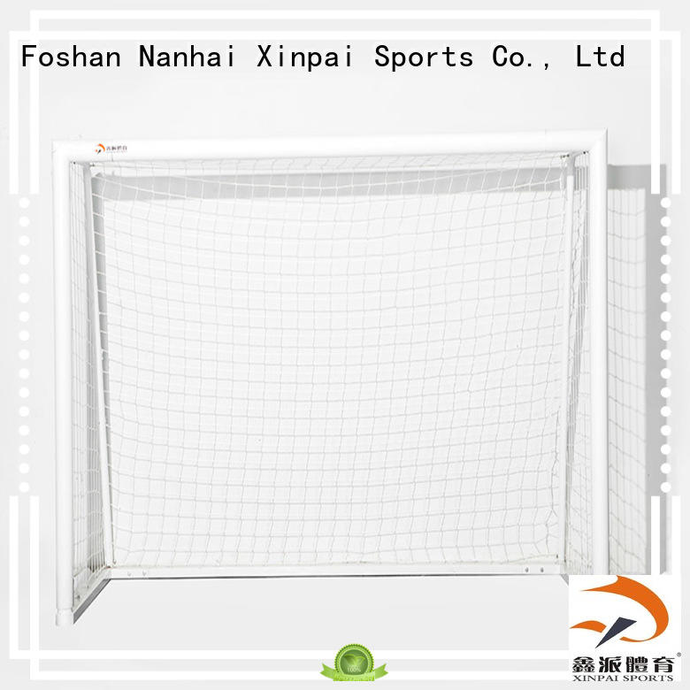 Xinpai steel soccer goal post perfect for training