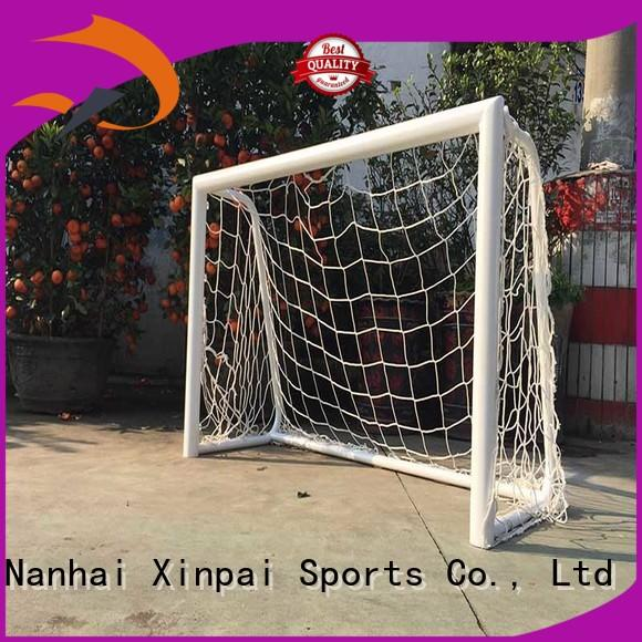 Xinpai stable best soccer goals strong tube for competition