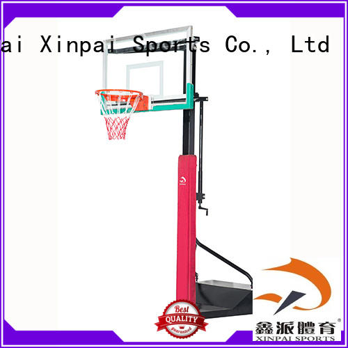 Xinpai xp108 basketball backstop selection of most Guangdong schools for training