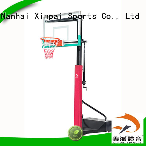 Xinpai durable quality best basketball goals rich product line for training