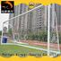 Tournament portable aluminum 8*24 ft soccer goal football goal 7.32*2.44 meter XP033AL
