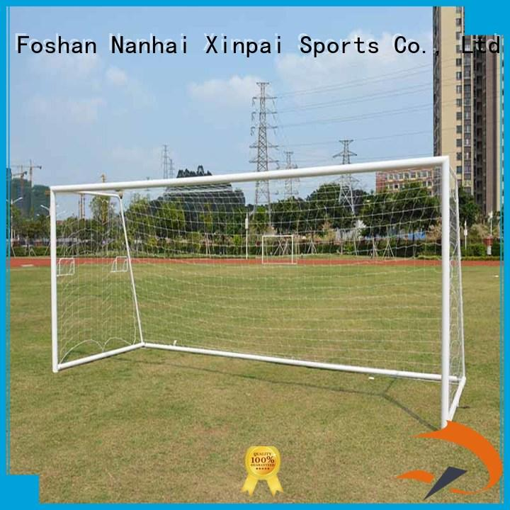 Xinpai rust resist futsal goal strong tube for practice indoor for soccer game