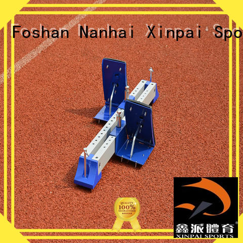 Xinpai tournament track and field starting blocks best choice for training