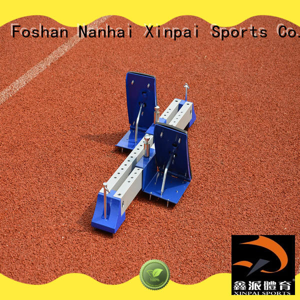 training track and field blocks widely used for tournament Xinpai