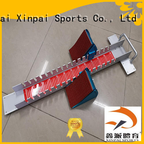 Xinpai outdoor track and field starting blocks widely used for competition