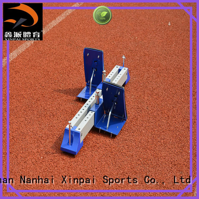 Xinpai outdoor equipment track and field hurdles widely used for school