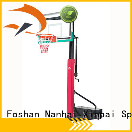 Xinpai cost effective outdoor basketball pole height for school