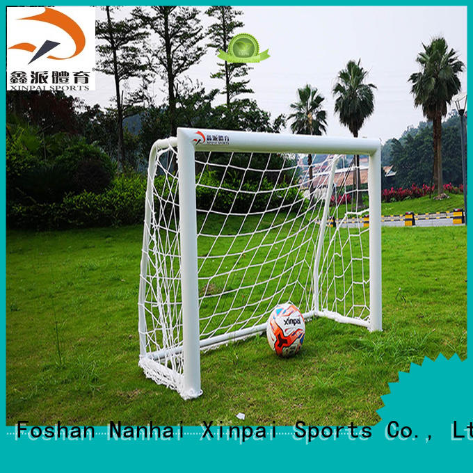 Xinpai stable soccer post strong tube for practice indoor for soccer game