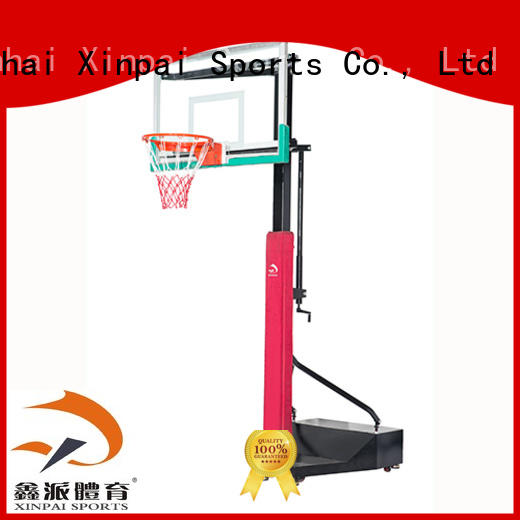 Xinpai basketball pole selection of most Guangdong schools for competition