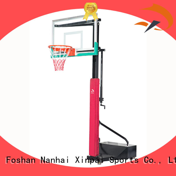 stainless wall mount basketball goal xp009 for competition Xinpai