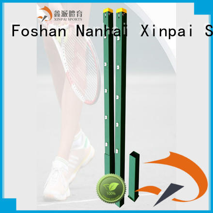 Xinpai professional portable tennis posts aluminum for court