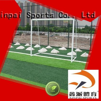Look a nice choice of 3*2 meter portable 5-on-5 game steel soccer goal football goal XP031S