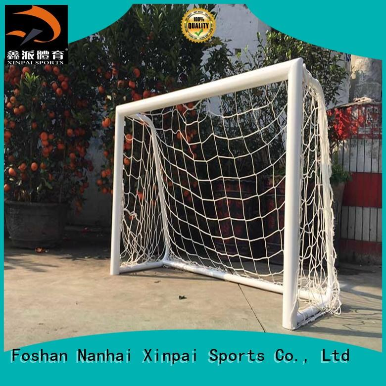 stable competition soccer goal strong tube for practice indoor for soccer game Xinpai