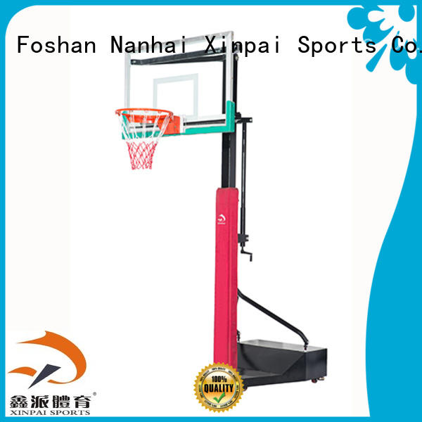 cost effective outside basketball goal xp009 selection of most Guangdong schools for basketball game