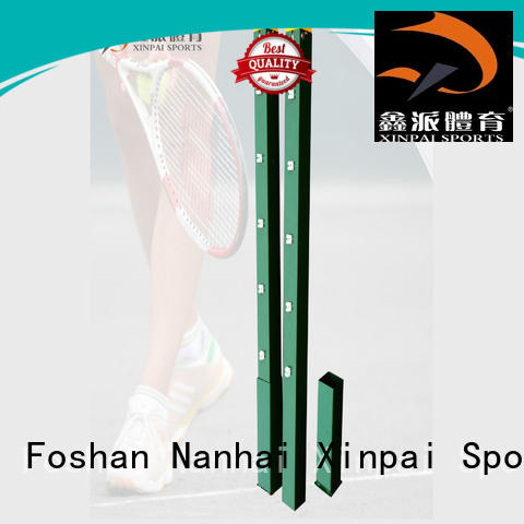 Xinpai good price tennis court nets and posts stand for training