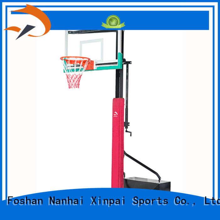 Xinpai durable quality indoor basketball goal widely used for tournament
